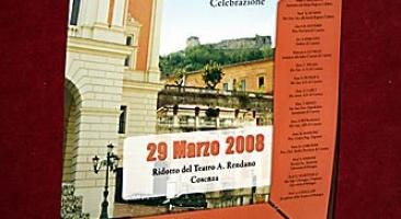 """Meeting """"Celebrazione 100 Trapianti a Cosenza"""" Teatro Rendano Marzo 2008"""
